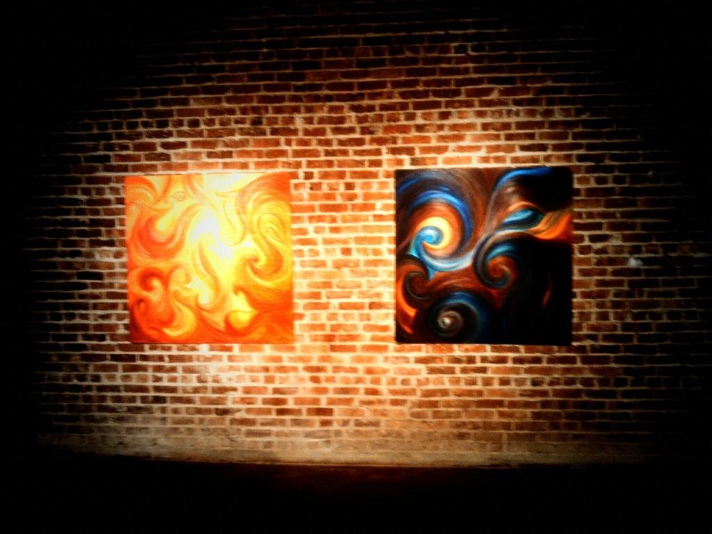 Psychedelic and Smoldering Dark